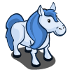 farmville blue pony