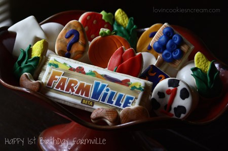 farmville cookies