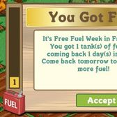 FarmVille Fuel Week makes a (very) welcome comeback