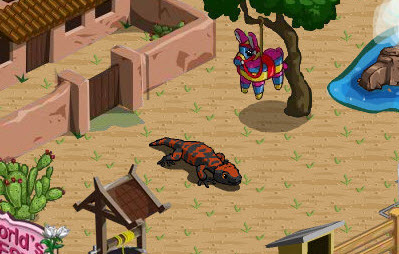 farmville gila monster