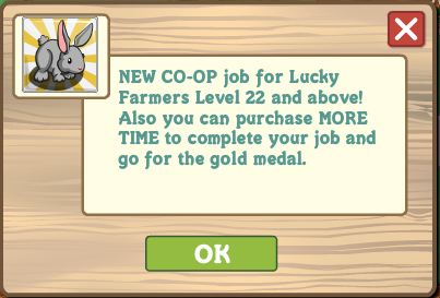 new farmville coop job baby bunny rescue