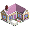 farmville pink piggy house
