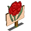 farmville red carnation sign