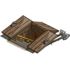 farmville underground wooden storage