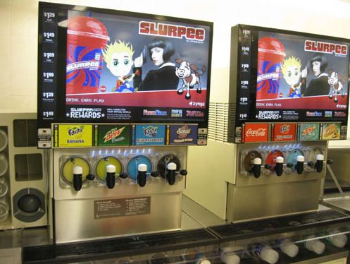 farmville 7-eleven slurpee machine