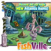 Discover the secrets of Atlantis in your FishVille aquarium