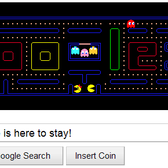Google's Pac-Man game doodle gets a permanent home(page)