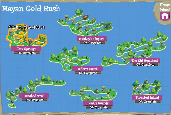 Treasure Isle Mayan Gold Rush