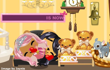 Pet Society pets sleeping together