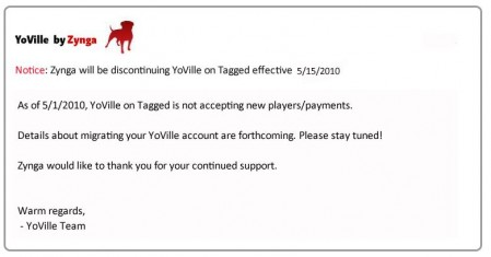 yoville tagged no more