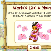 Tiki Farm: NEW! Cherry Blossom Charm