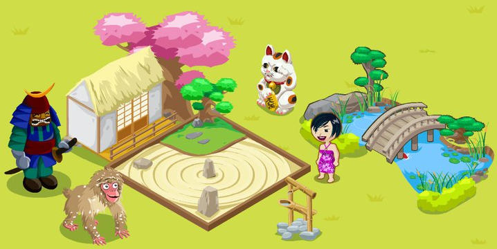 Tiki Farm Japan Week items