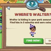 Zoo Paradise spoofs Waldo with Where's Walter game
