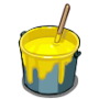 frontierville building materials - paint bucket