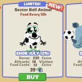 Zoo Paradise celebrates the FIFA World Cup with soccer items