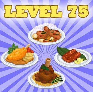 Cafe World Level 75 recipies