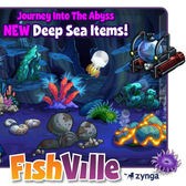 FishVille dives down to the Deep Sea abyss