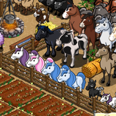 FarmVille: New Horses, Pony, Foals, Cows and Calf