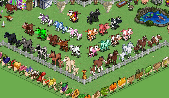 Farmville Freak Glenn 39 S Horse Foal Cow Calf Collection