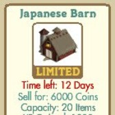 FarmVille: Japanese Barn is now available