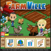 FarmVille: Fan builds a custom theme for his BlackBerry Storm 2