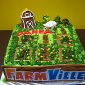 FarmVille cakes: An homage to virtual farming with frosting and flour