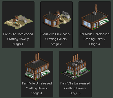 FarmVille Crafting Bakery
