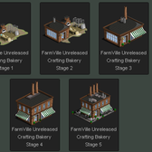 FarmVille Unreleased Crafting Bakery 5 Stages Revealed