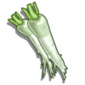 FarmVille Unreleased Daikon Crop & Daikon Mastery Sign