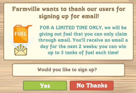 farmville free fuel