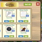 FarmVille Botanical Garden & Gift Box glitch