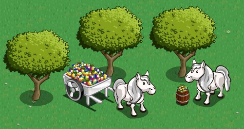 farmville iphone exclusive items