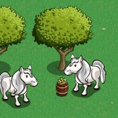 FarmVille iPhone's new exclusive items: Silver Pony, Rainbow Apple Cart, Rainbow Apple Barrel