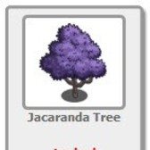 FarmVille Jacaranda Tree now Giftable