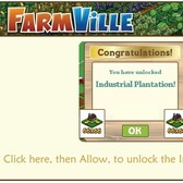 FarmVille Scam: Industrial Plantation 66×66 Land Expansion Scam