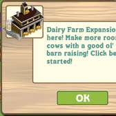 FarmVille Dairy Barn Expansion