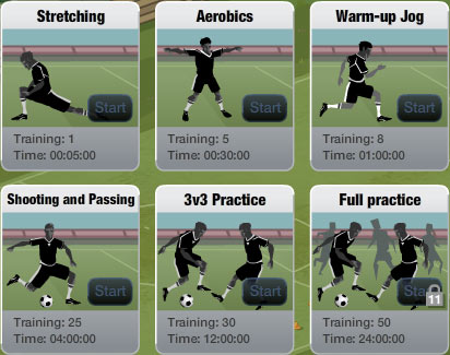 fifa superstars training