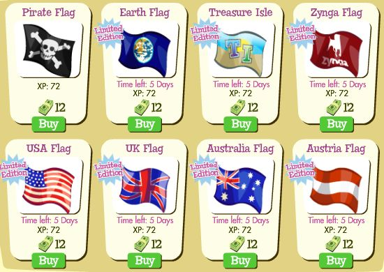 Treasure Isle Flags