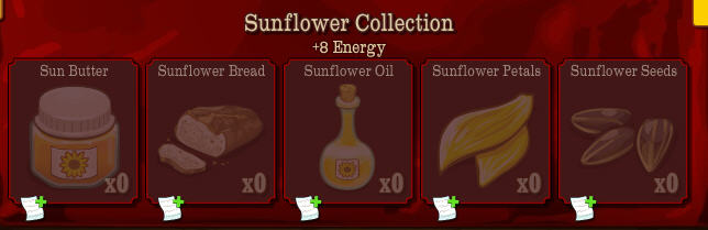 sunflower crop + collection