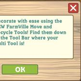 FarmVille rolls outs new Move Tool and Recycle Tool