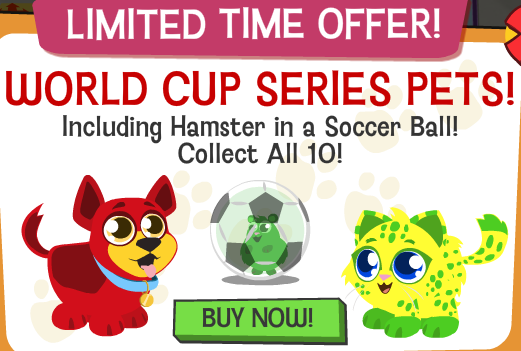 Happy Pets World Cup pets