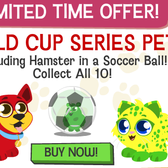 Happy Pets: Limited Edition Flag-colored friends debut for World Cup