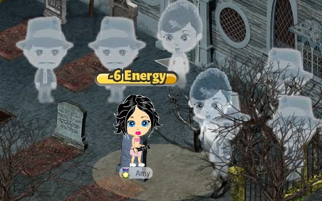 YoVille Ghosts