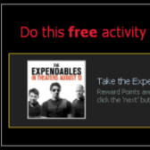 Mafia Wars: Get 2 free Reward Points with 'The Expendables'