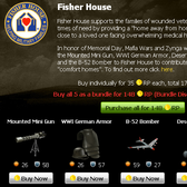 Mafia Wars hosts a Memorial Day Sale for the Fisher House Foundation