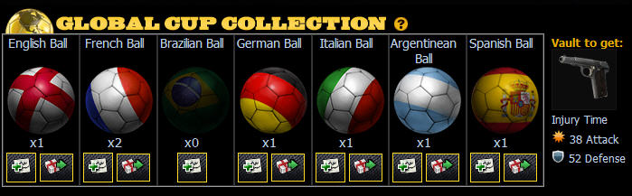 mafia wars global cup collection