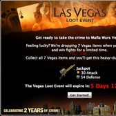 Mafia Wars Las Vegas Loot Event preps us for a Sin City takeover