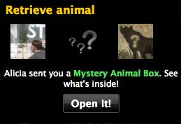 mafia wars mystery animal