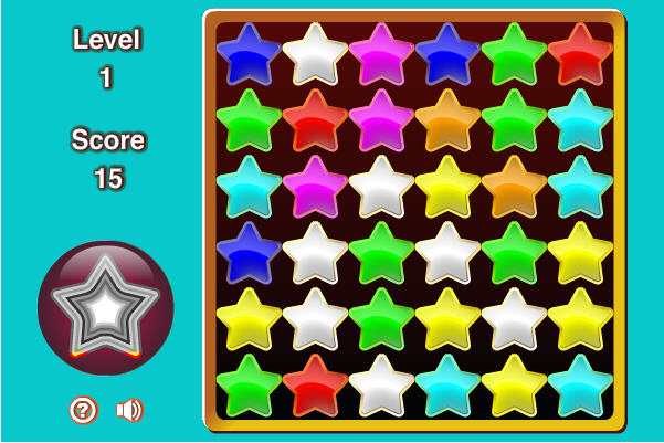 Games.com Game of the Day - Matching Stars