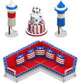 YoVille Fourth of July Items coming soon